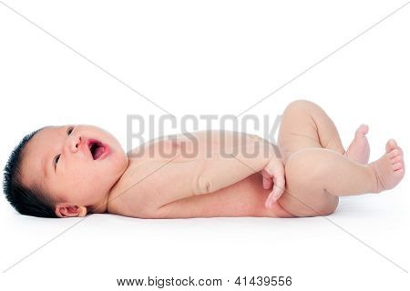 Happy Newborn Baby