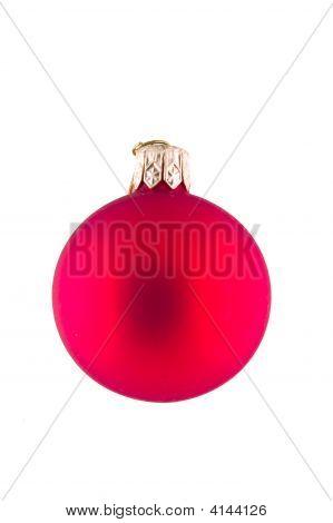 Isolated Christmas Ball