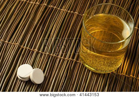 Vitamins Pills Soluble In Water