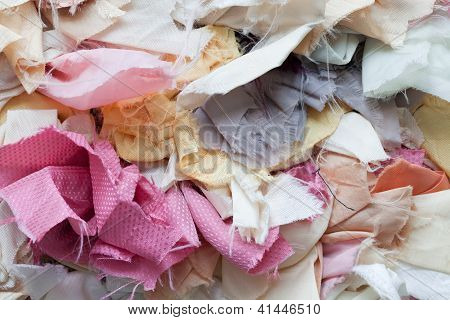 Mixed Mess Of Fabrics