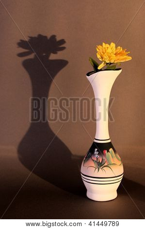 Vase On Brown