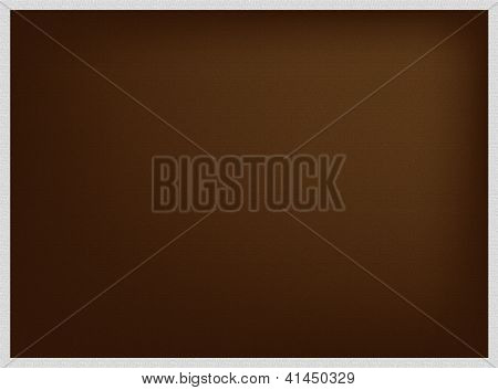 An Abstract Brown Background In Grey Frame