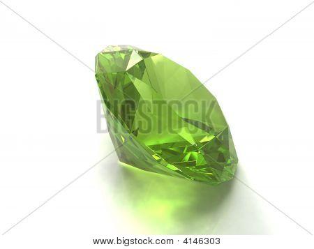 Peridot Or Chysolite Gemstone