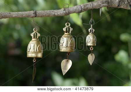 Buddhist prayer bells