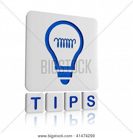 Tips - 3D Icon