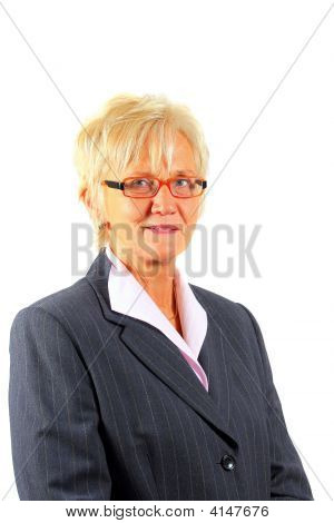 Businesswoman In Her 50Ies