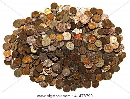 Heap Old Ussr And Russian Coins