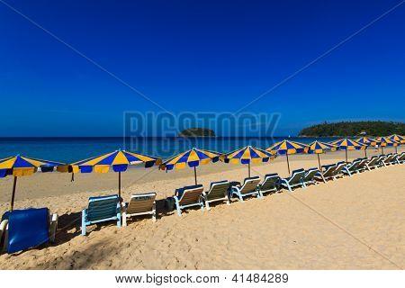 Kata Noi beach Exotic Bay in Phuket island Thailand
