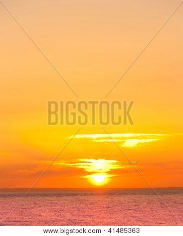 Scene View Ocean