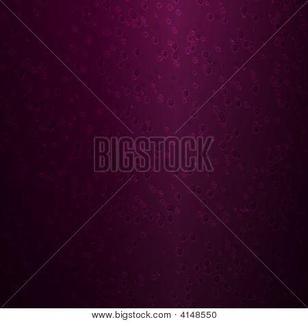 Purple Glass Bubbles