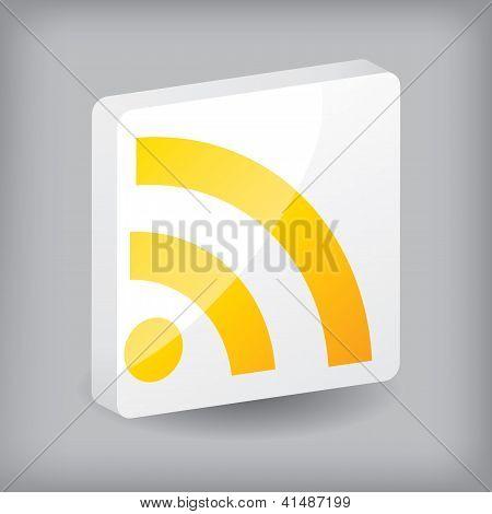 Diseño de botón RSS