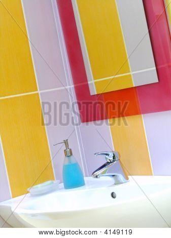 Interior Of Bathroom - Basin