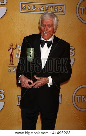LOS ANGELES - JAN 27:  Dick Van Dyke  in the press room at the 2013 Screen Actor's Guild Awards at the Shrine Auditorium on January 27, 2013 in Los Angeles, CA
