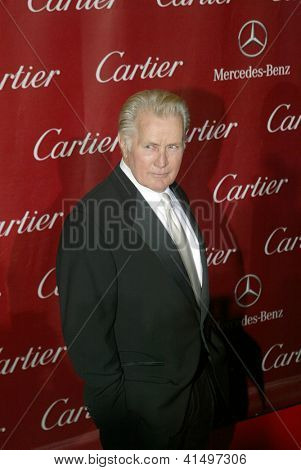 PALM SPRINGS, CA - JAN 5: Martin Sheen arrives at the 2013 Palm Springs International Film Festival's Awards Gala at the Palm Springs Convention Center on January 5, 2013 in Palm Springs, CA.