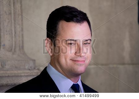 Jimmy Kimmel at the Hollywood Walk of Fame Ceremony