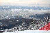 stock photo of sakhalin  - Winter Yuzhno - JPG