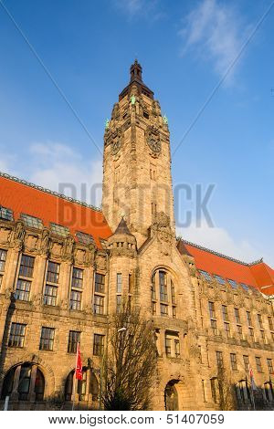Rathaus Charlottenburg - Administrative Building In The Charlottenburg-wilmersdorf Borough