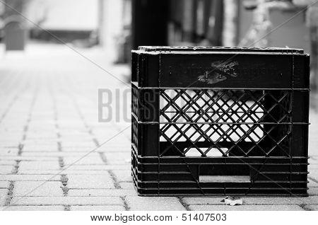 Milk Crate Portrait