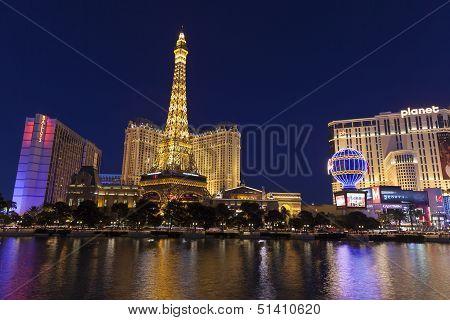 A View Of Las Vegas Boulevard In Las Vegas, Nv On May 20, 2013