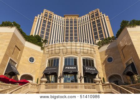 The Palazzo Hotel In Daylight In Las Vegas, Nv On June 05, 2013