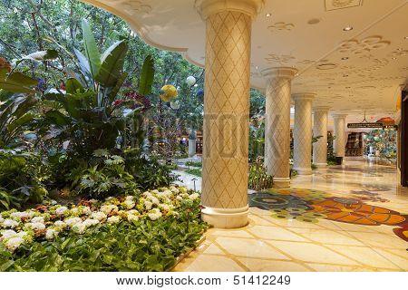 Wynn Hotel Interior In Las Vegas, Nv On August 02, 2013