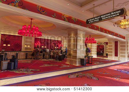 Encore Registration Area In Las Vegas, Nv On August 02, 2013