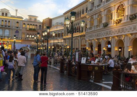 Grand Canal Shoppes At Venetian In Las Vegas, Nv On March 30, 2013