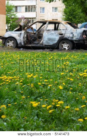 The Burnt Down Car