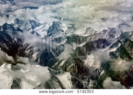 Himalayas From The Sky Series