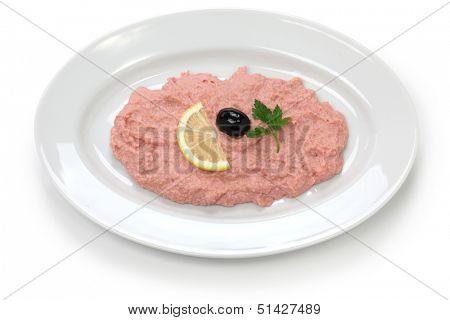 taramasalata, cod roe dip, Greek food