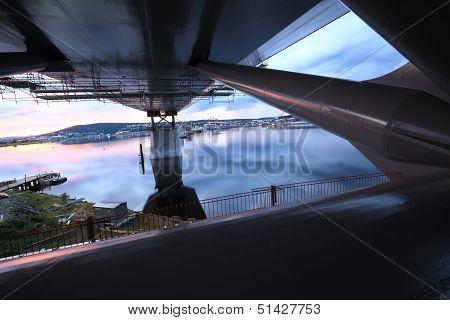Under The Bridge Viewing Supports