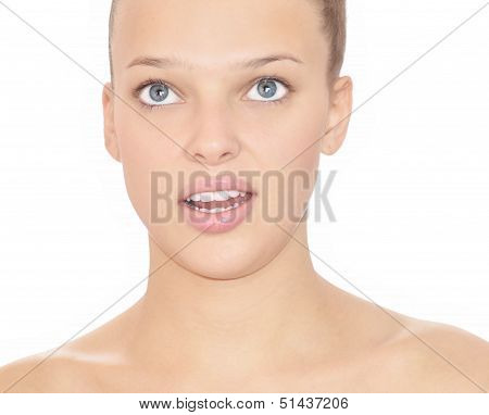 surpised woman