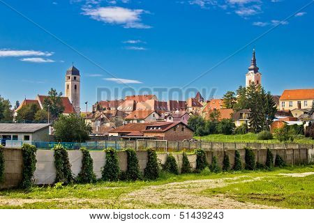 Town Of Krizevci In Prigorje Region