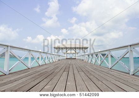 Wonderful Wood Bridge