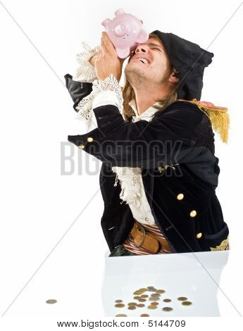 Pirate And Piggybank