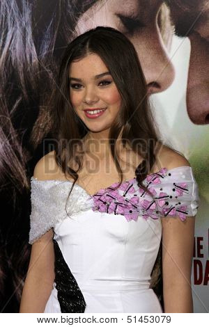 LOS ANGELES - SEP 24:  Hailee Steinfeld at the Romeo & Juliet Premiere at ArcLight Hollywood Theaters on September 24, 2013 in Los Angeles, CA
