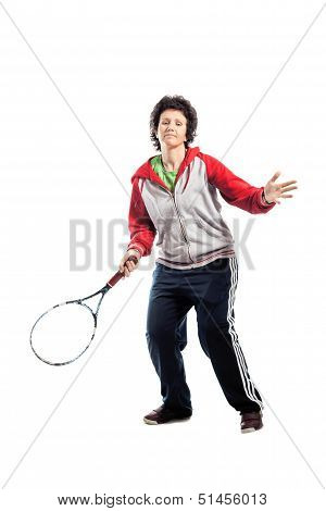 Casual Tennis Player
