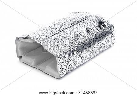 an ice pack bottle cooler on a white background