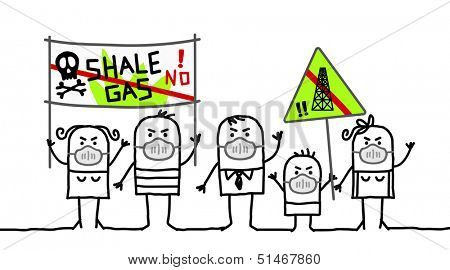 people against shale gas