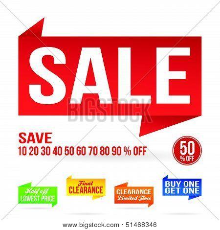 Sale Signage Elements