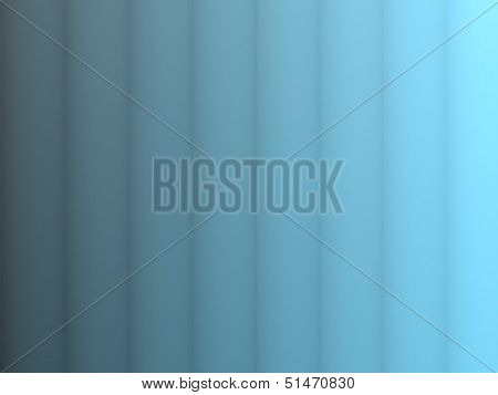 Blue Vertical Stripes