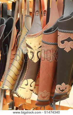 Leather quivers
