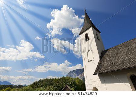 Small Mountain Church - Obersch�tt Austria
