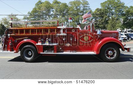 1950 Mack fire truck from Huntington Manor Fire Department
