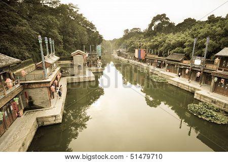 Suzhou Water Street In Beijing