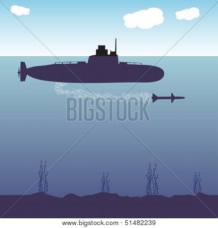 War submarine