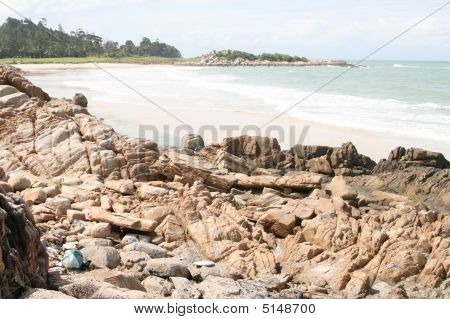 Beach In Bintan, Indonesia