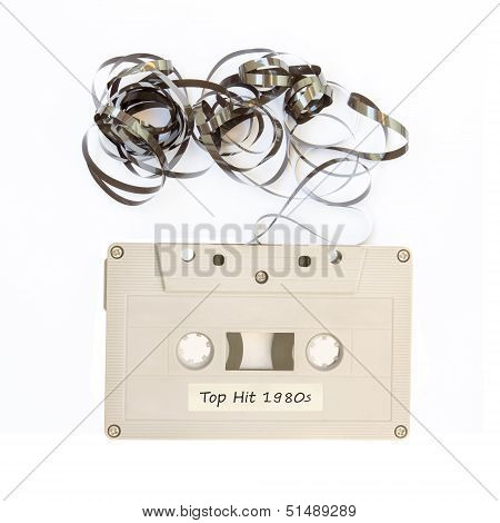 Tape Cassette With Label