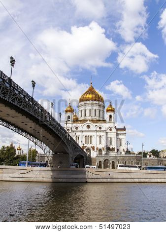 Moscow. The Cathedral of Christ the Savior