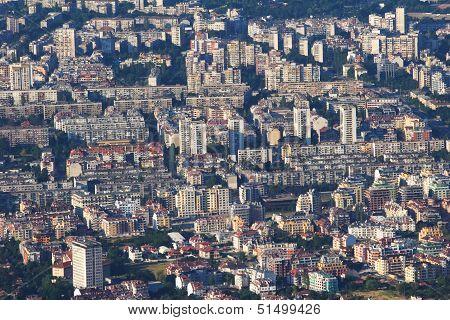 Crowded Urban Buildings